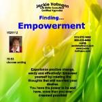 Finding EMPOWERMENT