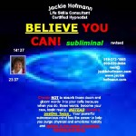 Believe you can! subliminal