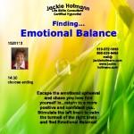 Finding  EMOTIONAL BALANCE